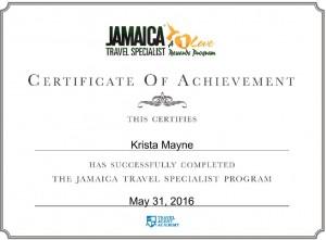 krista mayne jamaica travel specialist