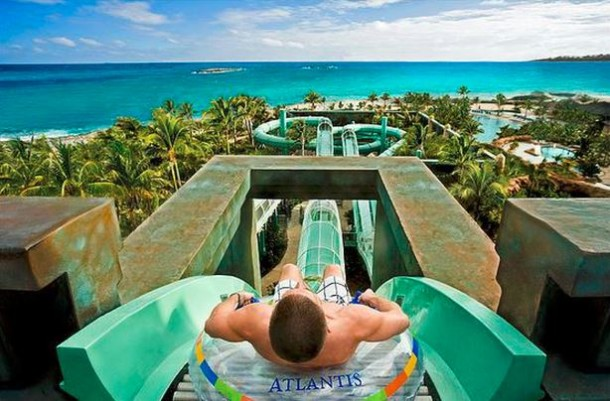 atlantis resort waterslide