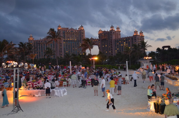 bahamas beach party