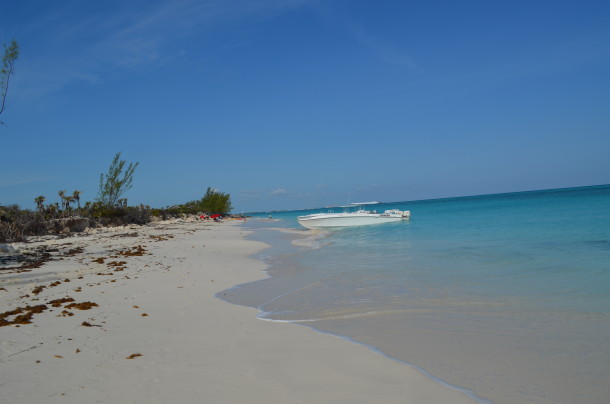 private bahamas beach