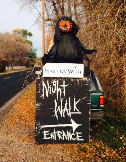 heber halloween night walk