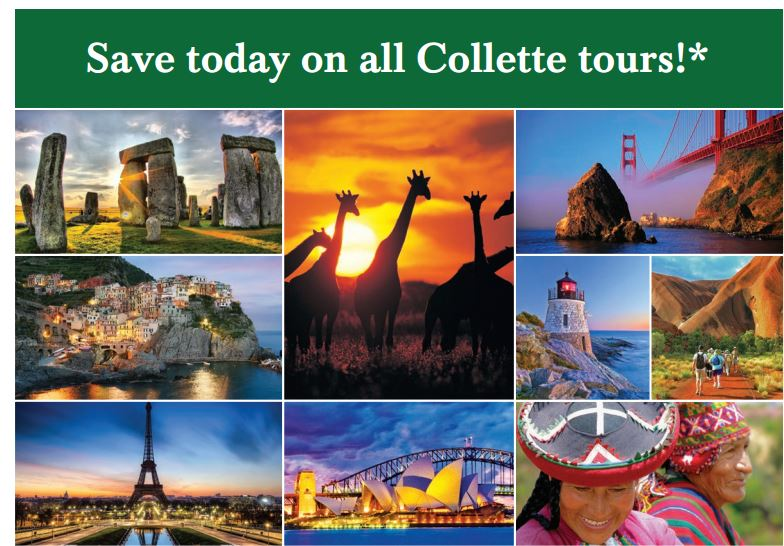 Collette Tours Promotions Snob Trips - Collette tours