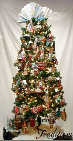 Travel christmas tree inspiration for Christmas decorations near me