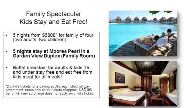 tahiti family travel discount