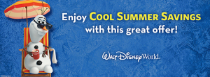 Disney World Summer Discounts