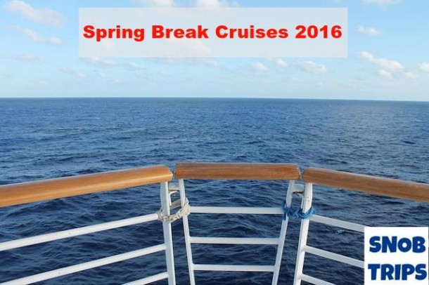 spring break cruises 2016