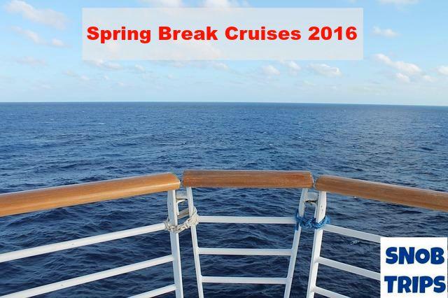 spring break cruises 2016