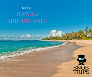 Hawaii Flights are on Sale!