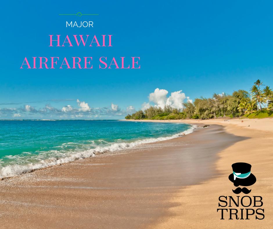 hawaii flights are on sale
