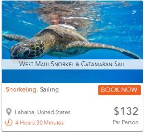 west maui snorkeling trip