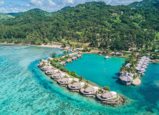 fiji over the water bungalows
