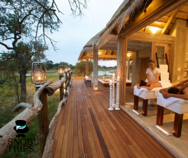 massages on safari honeymoons